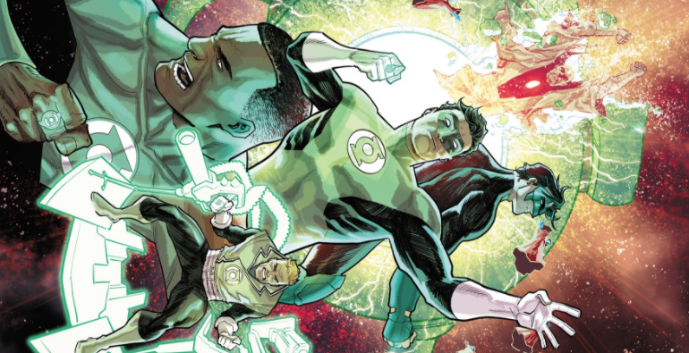 differences unite but also divide in hal and the green lantern corps 34 retcon punch