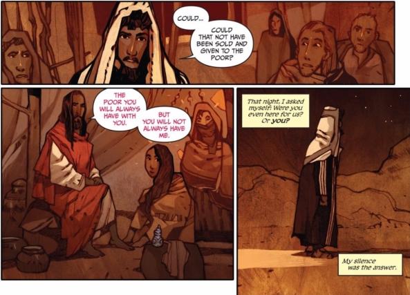 Jesus and Judas