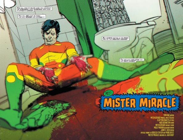 Mister Miracle's escape