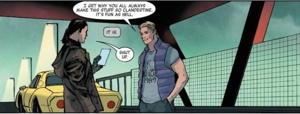 Bucky and Clint