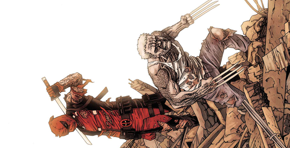Deadpool vs Old Man Logan 5