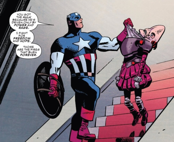Cap fights for freedom and hope