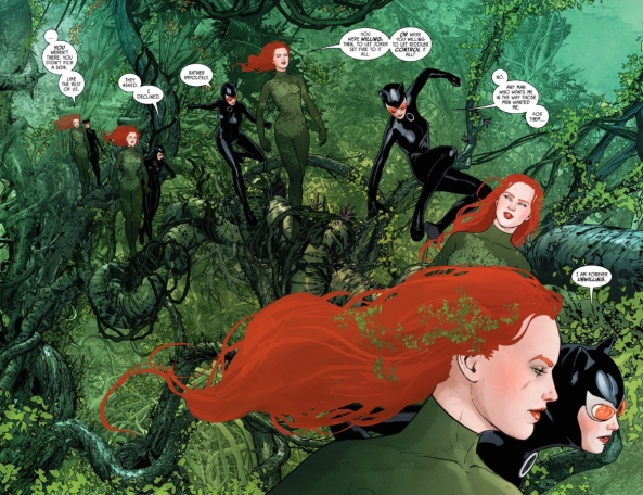 Ivy and Selina, walking in a tree...