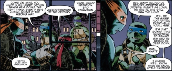 The Turtles talk it out