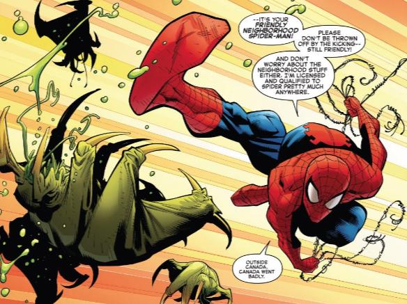 Spider-Kick