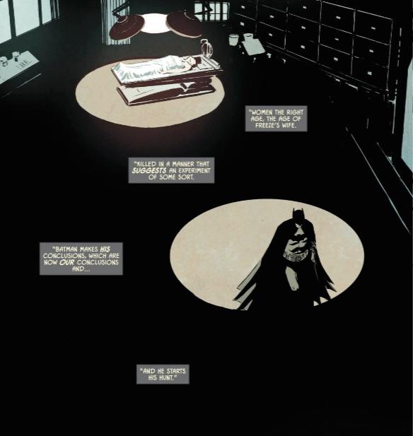 Batman in the Morgue